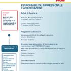 , Seminario di Studi – La responsabilità civile professionale e le assicurazioni